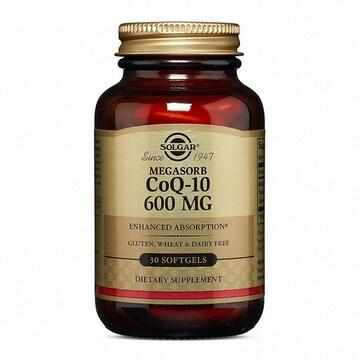 솔가 코큐텐 600MG 30캡슐 (해외)(1개)