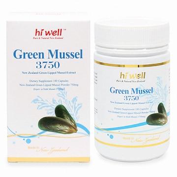 하이웰 초록입홍합 3750 180캡슐(1개)