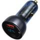 베이스어스 차량용 QC+PPS 65W 메탈 듀얼 고속 시가잭 충전기 VCKX65C (해외구매)_이미지