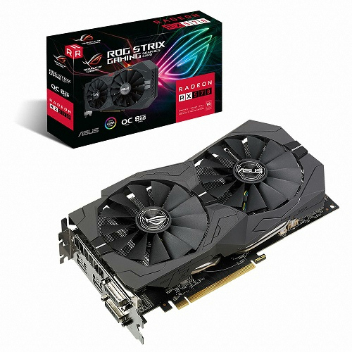ASUS ROG STRIX 라데온 RX 570 O8G GAMING D5 8GB 대원CTS