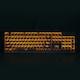 웨이코스 씽크웨이 CROAD K24 LED CUSTOM 축교환 기계식 키보드 (블랙, 갈축)_이미지