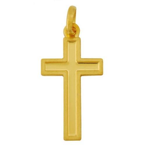 골드모아 순금 메달 십자가 3.75g_이미지