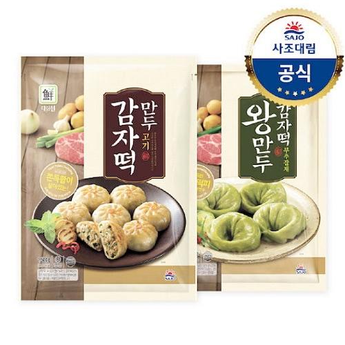 사조대림 대림선 감자떡 만두 고기 1.5kg+부주잡채 1.4kg (1개)_이미지