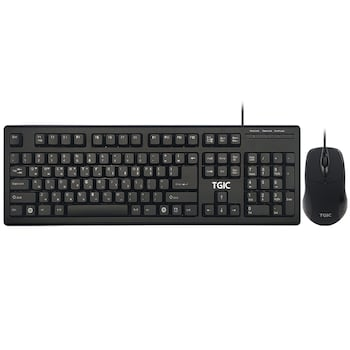 TGIC TGC-MK7000S 유선 키보드 마우스 세트