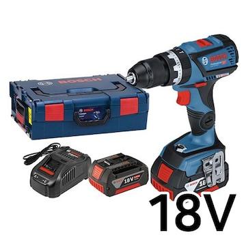 보쉬  GSB 18V-60 C Professional (5.0Ah, 배터리 2개)