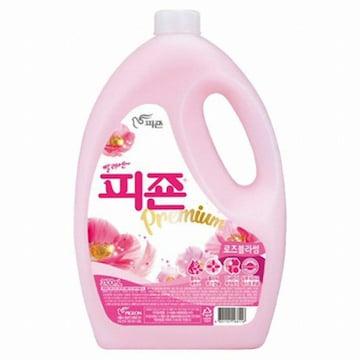 피죤  섬유유연제 핑크로즈 3.1L (1개)