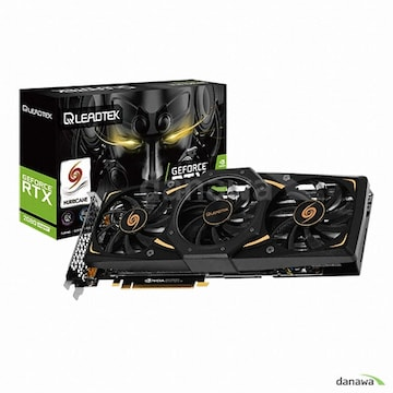 리드텍 WinFast 지포스 RTX 2080 SUPER HURRICANE D6 8GB