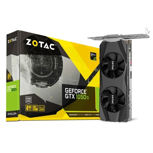 ZOTAC  지포스 GTX1050 Ti D5 4GB LP_이미지