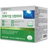 녹십자웰빙  식물성 오메가3 그린아이 60캡슐 (2개)_이미지