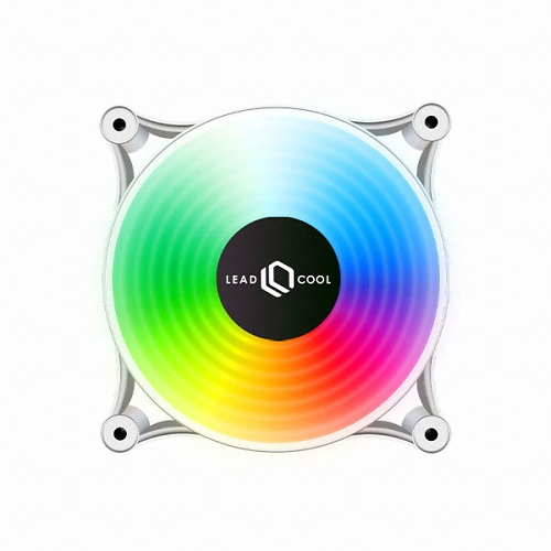 LEADCOOL 120 RGB 레인보우 WHITE (1PACK)