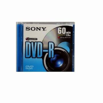 SONY DVD-R 2.8GB 2x 쥬얼 1장 미니_이미지