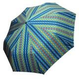 엘르  바둑판체크 3단 우산 E3-0006_이미지