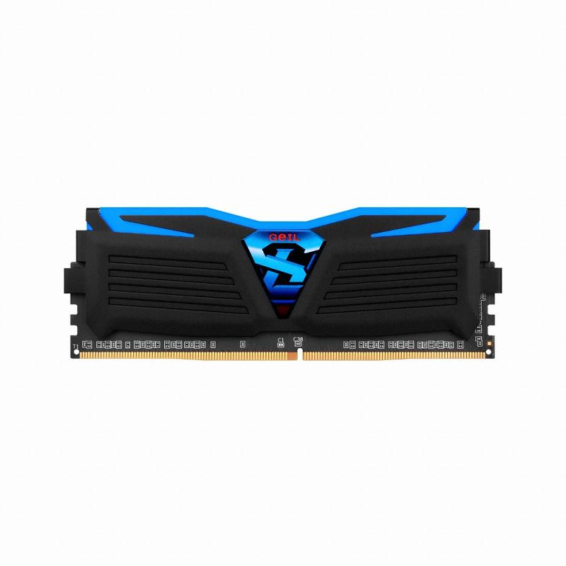 GeIL DDR4 16G PC4-19200 CL17 SUPER LUCE BLACK 블루 (8Gx2)