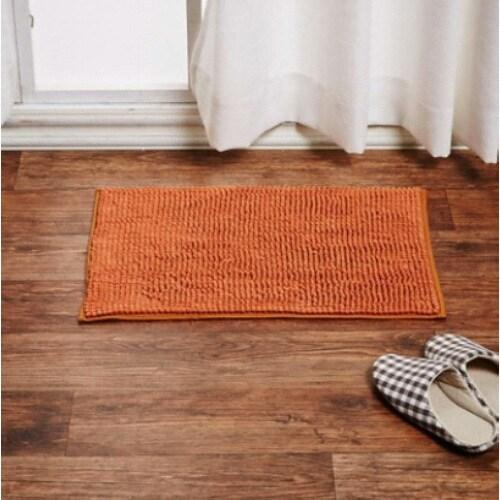 이랜드리테일 모던하우스 WOW 샤기 욕실매트 오렌지 (60x40cm)_이미지