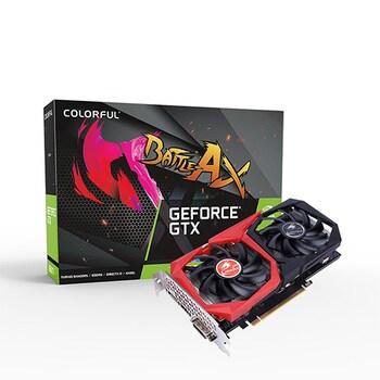 COLORFUL 지포스 GTX 1650 토마호크 EX D6 4GB