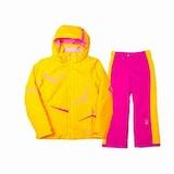 스파이더  걸스 트레쉬 아동자켓+스릴 팬츠 세트 155308+155326 옐로우+핑크_이미지