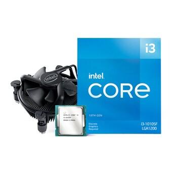 인텔 코어i3-10세대 10105F (코멧레이크S 리프레시) (정품)