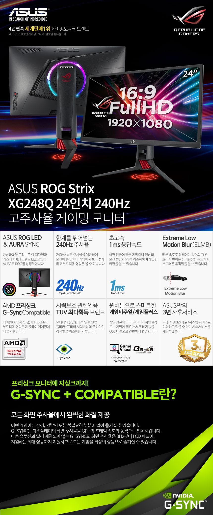 ASUS ROG STRIX XG248Q
