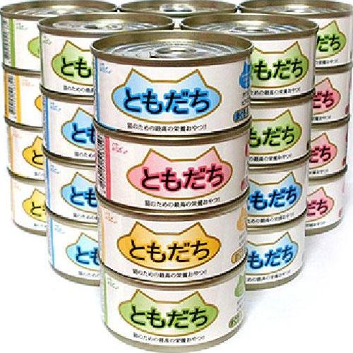 굿프랜드 토모다찌 고양이캔 4종 콤보 80g(24개)