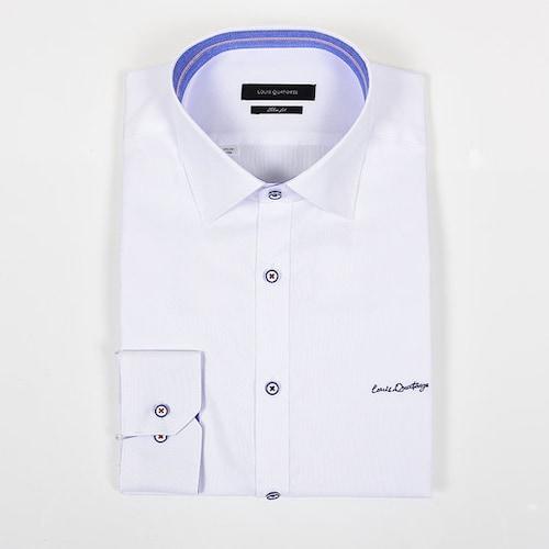 루이까또즈  슬림핏 긴소매 셔츠 Q6C2611_이미지