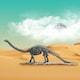 트리 아트피플 공룡 뼈 조각상 (울트라사우루스) A46_이미지
