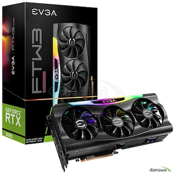 EVGA 지포스 RTX 3080 FTW3 ULTRA GAMING D6X 10GB