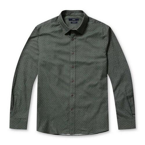 코오롱인더스트리 스파소 올오버 핀 도트 셔츠 SPSAA17431GRX_이미지