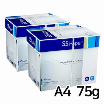 삼성전자  SS페이퍼 복사지 A4 75g (10팩, 5000매)