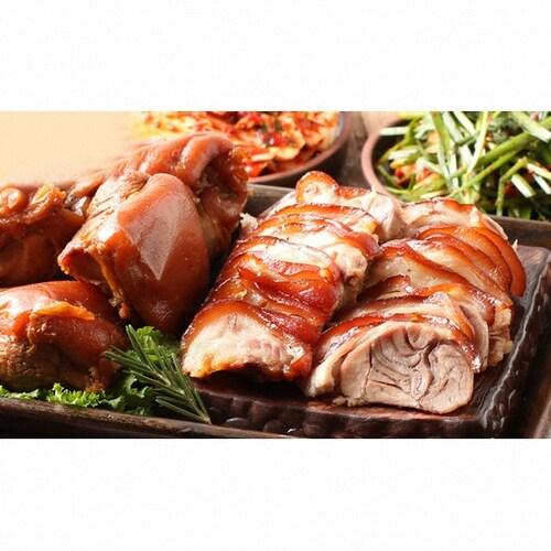 돈보이 흑마늘 무뼈족발 500g (1개)