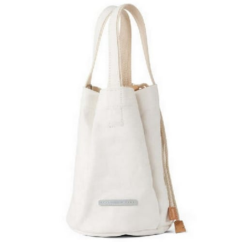 로우로우 CLOVER TOTE 760 CANVAS (WHITE)_이미지