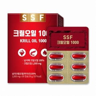 순수식품 SSF 크릴오일 1000 30캡슐 (3개)_이미지