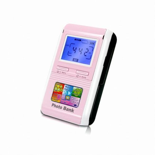 하이기가 Photo Bank HG-50S 핑크 (200GB)_이미지