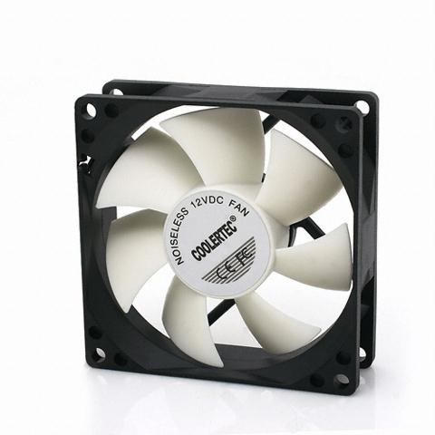 COOLERTEC CWF-8025 화이트 윙 팬