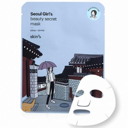 스킨79  서울 걸스 뷰티 시크릿 집중보습 마스크 (1매)_이미지