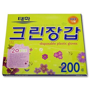 태화지앤지 크린장갑 200매(1개(200매))