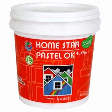 삼화페인트 홈스타 파스텔OK 플러스 페인트(1L)