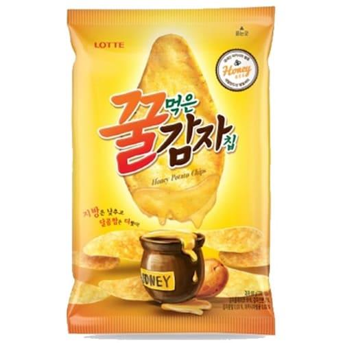 롯데제과  꿀먹은 감자칩 68g (16개)_이미지
