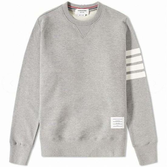 톰브라운 삼선 라운드넥 긴팔 티셔츠 MJT021H 00535 068