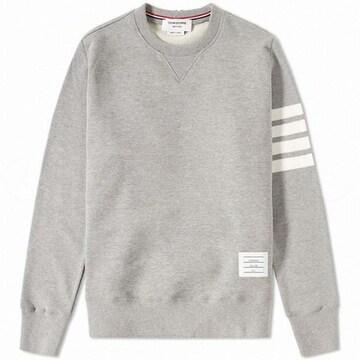 톰브라운 삼선 라운드넥 긴팔 티셔츠 MJT021H 00535 068_이미지