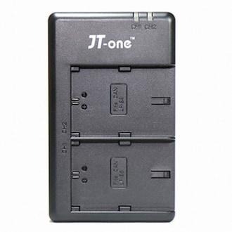 JT-one 파나소닉 DMW-BLH7,BLH7E 호환 DU-BLH7E 듀얼충전기_이미지