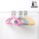 로이코 화이트래빗 PVC 메탈 논슬립 옷걸이 아동용 핑크 (30개)_이미지