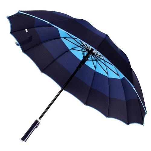 바니브라운 비오니 14K 사색나염 자동 장우산_이미지