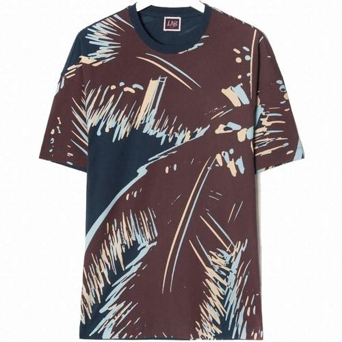 삼성물산 빨질레리 남성 코튼 보태니컬 반팔 티셔츠 PC9142XL3R_이미지