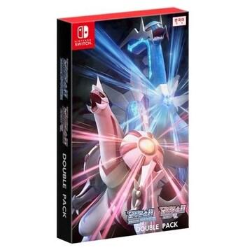 Nintendo 포켓몬스터 브릴리언트 다이아몬드 & 샤이닝 펄 더블팩 SWITCH