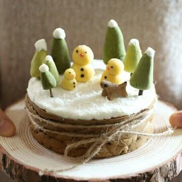 그냥점례 그냥, 점례 눈사람 케이크