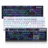 ABKO HACKER K6000 RGB 게이밍 기계식 카일 (블랙, 청축)_이미지