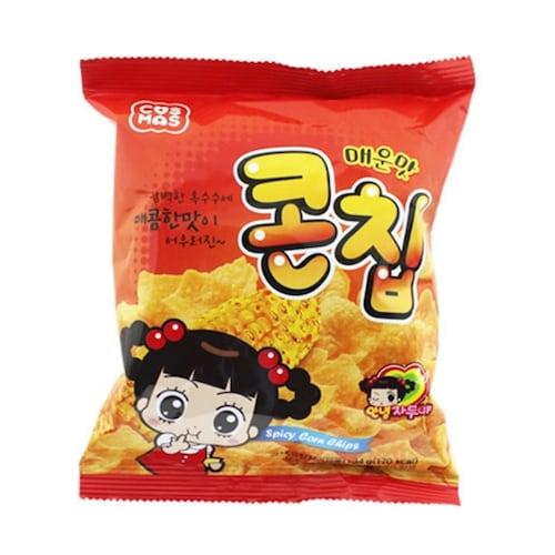 코스모스제과  콘칩 매운맛 34g (5개)_이미지