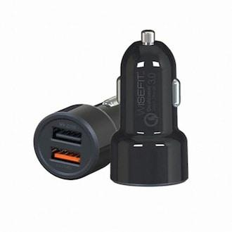 와이엘인터내셔널 와이즈핏 차량용 고속 충전기 듀얼 USB 시거잭_이미지