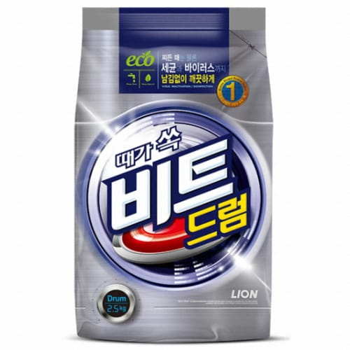 CJ라이온 비트 드럼 리필 2.5kg (1개)_이미지