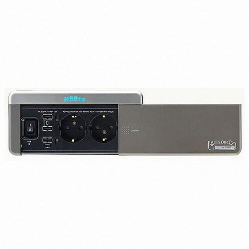 하츠 2구 스마트 USB 콘센트 MC-S1991NI_이미지